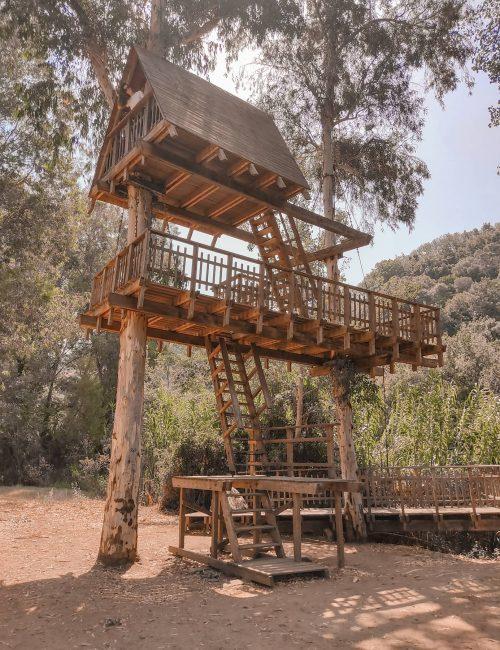 casa sull'albero Allai
