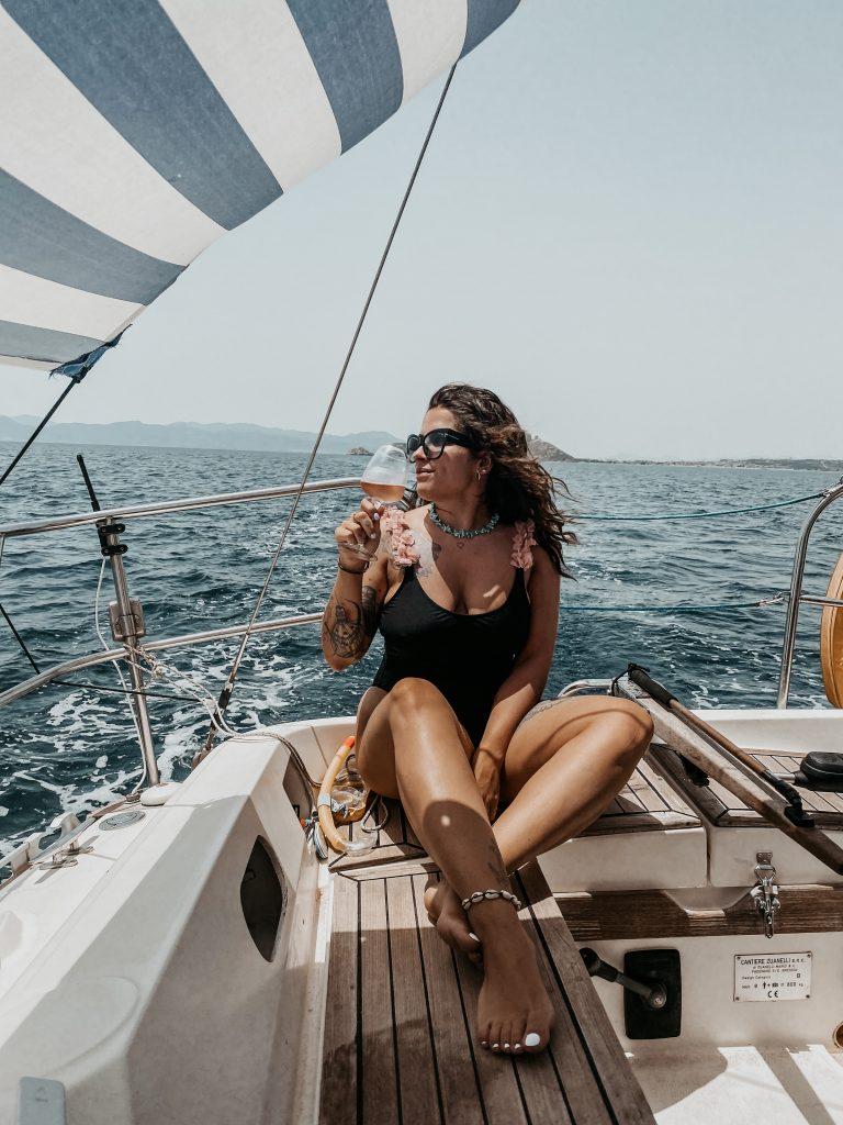 cagliari in barca a vela