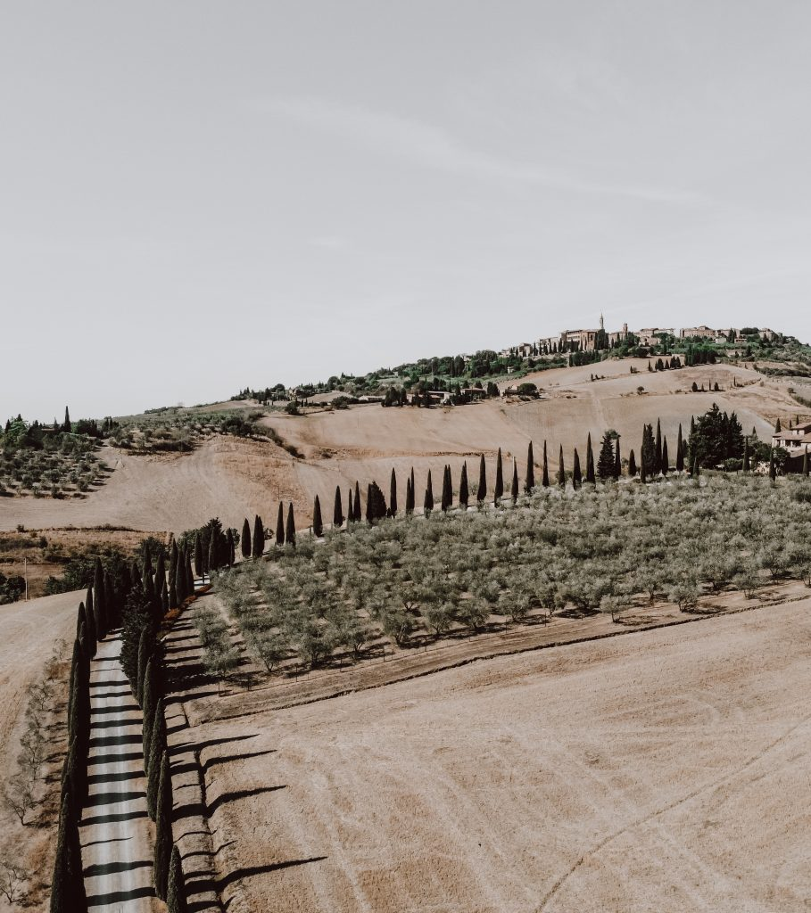 val d'orcia Toscana cosa vedere